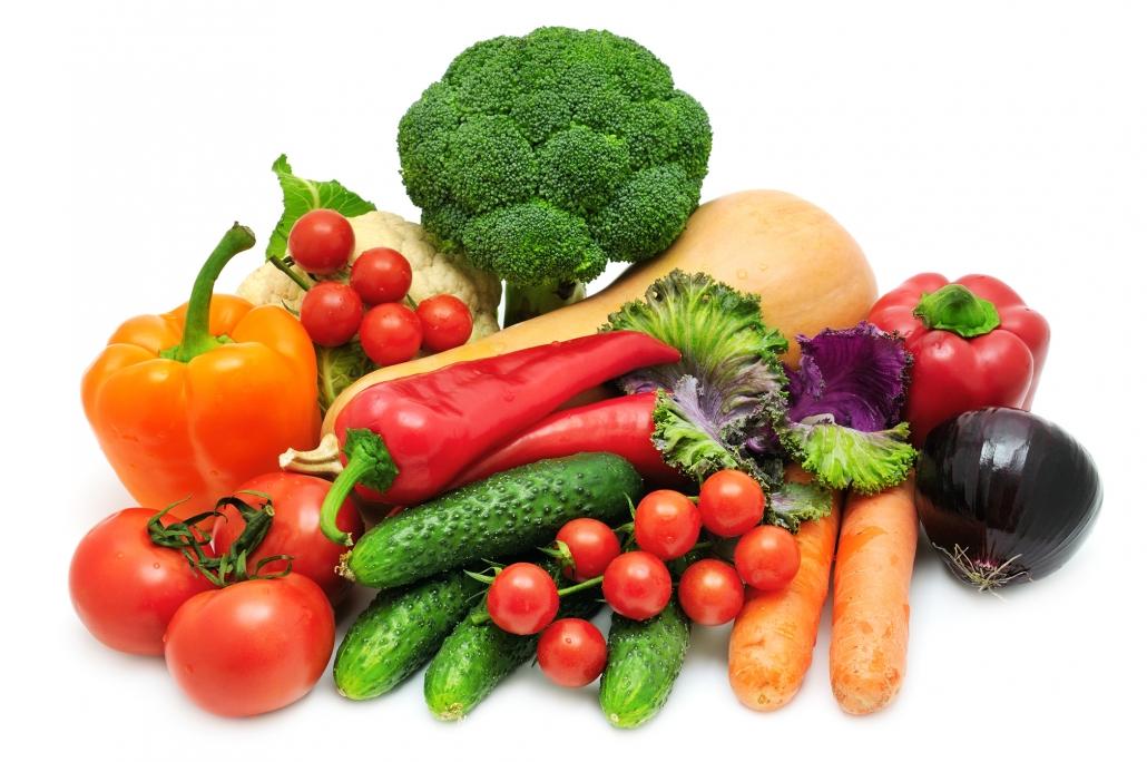 سبزیجات حاوی آنتی اکسیدان