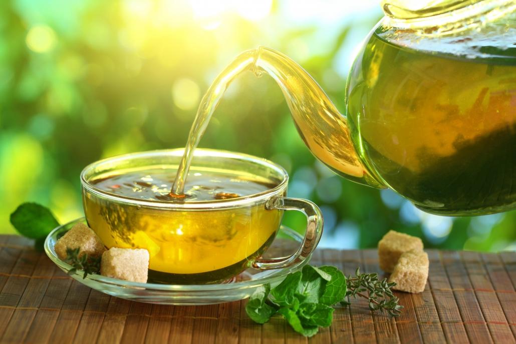 چای سبز و تقویت ناخن